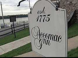 The stone building, located along the Susquehanna River, dates back to the late 1700s.