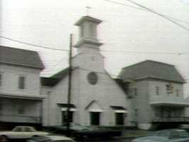 The town's last church was St. Ignatius Roman Catholic Church.