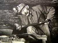 The men who dug the coal that fueled America put in long, hard days in the dark, damp underground.