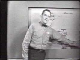 Weatherman Bill Saylor.