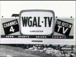 Channel 8 wasn't always Channel 8. WGAL started as Channel 4. And as you can see, in the early days, WGAL promised news, sports, drama and variety.