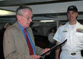 Thomas G. Kelley: U.S. Navy, Vietnam War: Noticing one of the river boats was experiencing mechanical failure, Kelley moved his monitor between the disabled boat and enemy and opened fire. Kelley was hit and struggled to remain conscious, but he commanded the battle until the squadron was out of harm's way.