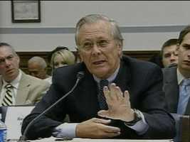 Donald Rumsfeld, former Secretary of Defense