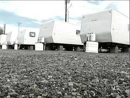 FEMA trailer lot