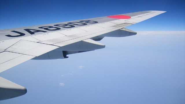 airplane wing, travel, flight