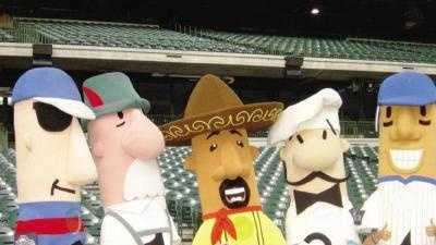 Racing Sausages - 30847489