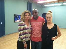 Stephanie Sutton, Donald Driver and Peta Murgatroyd - taken April 21, 2012.