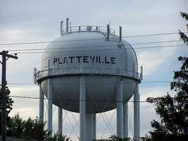 Platteville - Pop. 10,288Incidents of crime - 2,576