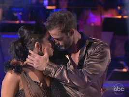 William Levy and Cheryl Burke ended the individual competition with a Rumba danced to a Smokey Robinson song.