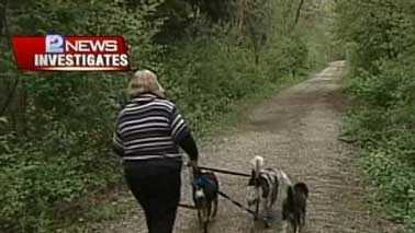 woman with dogs -- Colleen's story