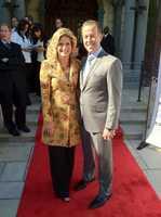 Stephanie Sutton with Craig Karmazin
