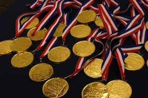 Everyone gets a medal (made of chocolate!)