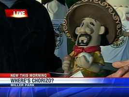 Chorizo was missing from Miller Park this past weekend.  It was all part of a promotional effort by the Brewers.