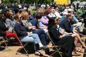 Family of fallen officers as well as the general public were invited to the event
