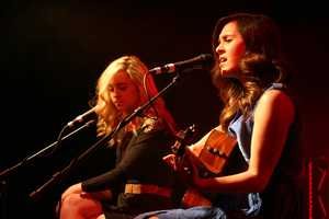 Megan and Liz also performed at the Racine Horlick High School concert