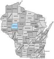 Chippewa County: Population: 61,466. Median age: 39.8  years