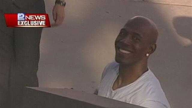 12 News was there as Donald Driver and his family landed at Mitchell International airport.