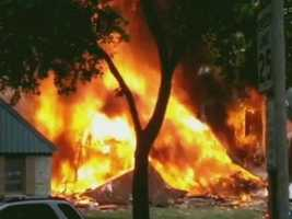 7 people were injured when a house exploded Saturday in Glendale.