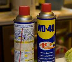 WD-40 is also a popular sticker-removal solution.  Soak the sticker with the spray, and remove with a dulled edge like a credit card.