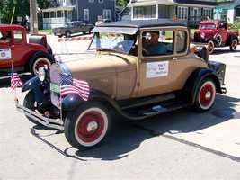 The first parade in Appleton was held in 1950.