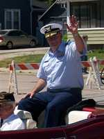 Rear Admiral Michael Parks, U.S. Coast Guard, was the Honorary Parade Marshal.