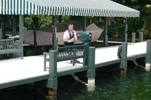 Not all piers are created equal&#x3B; varying lengths and widths.