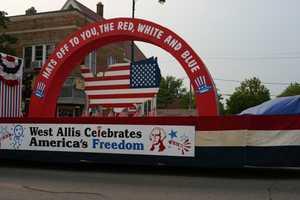 Post parade activities were at Veterans' Memorial Park.