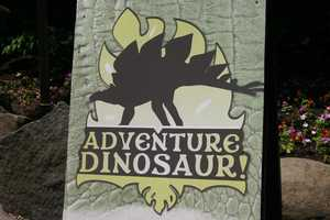 Adventure Dinosaur is open during regular zoo hours and will run until September 3.