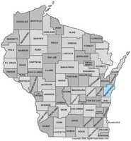 Manitowoc County: 7.3 percent, down from 8.5 percent in March
