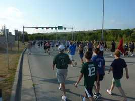 The race benefits the Brewers Community Foundation