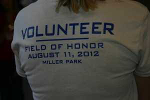 There were over 600 volunteers to help at this event.