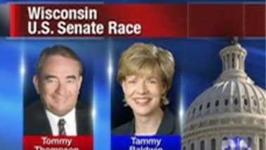 Tommy Thompson and Tammy Baldwin
