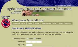 Wisconsin announced changes to the state's Do Not Call list.