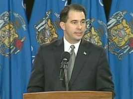 Jan. 3, 2011 - Scott Walker sworn in as the 45th governor of Wisconsin.