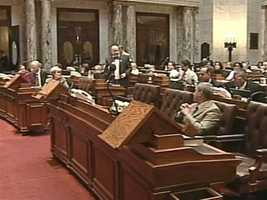 Dec. 15, 2010: - Democratic leaders call a special session, pressing to approve union contracts ahead of Walker's swearing in. Assembly passes by single vote, but State Senate ties. Approval fails.