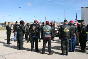 The Patriot Guard Riders often attend funerals and act as escorts for fallen soldiers returning home.