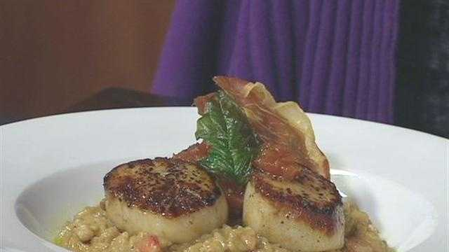 Making Meals: Scallops with Lobster Risotto (Part 1)