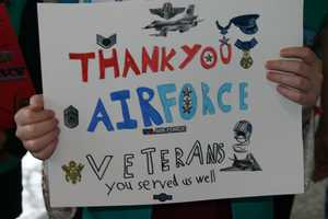 """Thank you Air Force veterans, you served us well"""