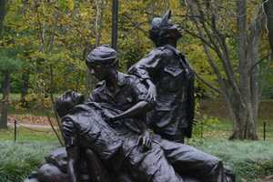There is also a statue dedicated to women who served in Vietnam.