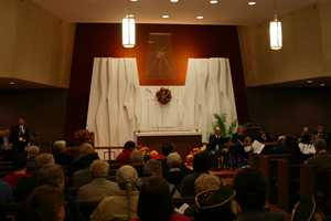The Medical Center Chapel was the site of the ceremony.