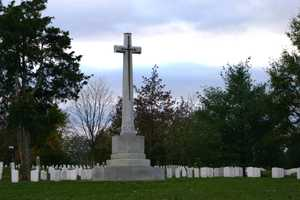 The Canadian Cross of Sacrifice is a memorial to the large number of US citizens who enlisted in the Canadian Armed Forces, and lost their lives during World War I. Because the Canadians entered the war long before the United States, many Americans enlisted in Canada to join the fighting in Europe.