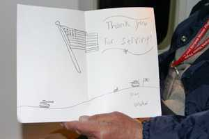 On the return flight of the last Stars and Stripes Honor Flight the vets were surprised with a mail call with letters from home, just like when they were in the service.