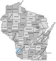 Crawford County: 8 percent