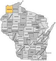 Douglas County: 7 percent