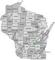Green Lake County: 8 percent