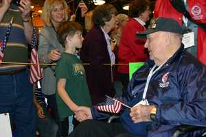 Bridging the generations is part of what Stars and Stripes Honor Flight is all about.