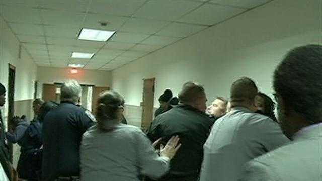 12 News Terry Sater talks with the Chief judge and asks whether security could have been handled differently.