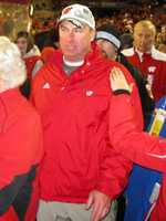 7 - Number of seasons Bielema was at the helm of the Badgers football program.