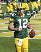 Aaron Charles Rodgers was born Dec. 2, 1983 in Chico, Calif.