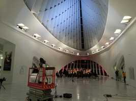The Milwaukee Art Museum again was gracious enough to host the a segmentfor this special.